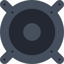 audio, car, music, play, sound, speaker icon