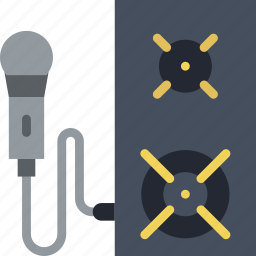 audio, boombox, music, play, sound icon