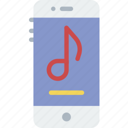 audio, phone, play, player, sound icon