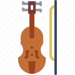 audio, music, play, sound, violin icon