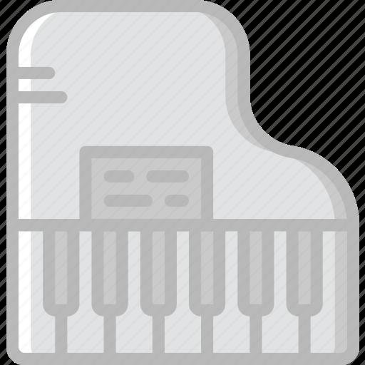 audio, music, piano, play, sound icon