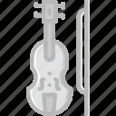 audio, music, play, sound, violin icon