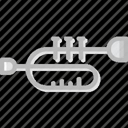 audio, music, play, sound, trumpet icon