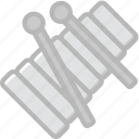 audio, music, play, sound, xylophone icon