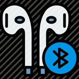 audio, headphones, music, play, sound, wireless icon