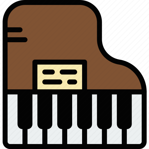 Audio, music, piano, play, sound icon - Download on Iconfinder