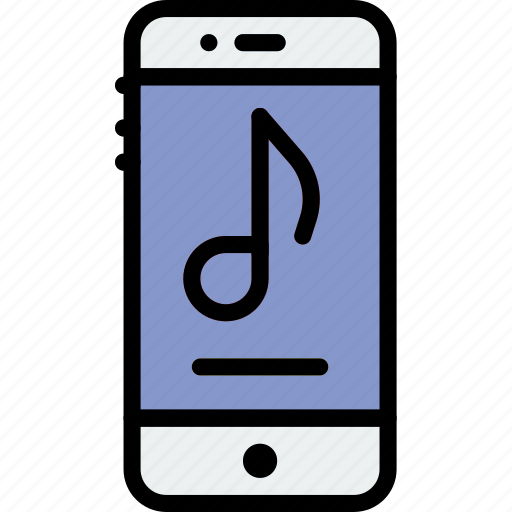 audio, music, phone, play, player, sound icon