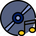audio, cd, music, play, sound icon