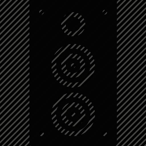 audio, club, music, play, sound, speaker icon