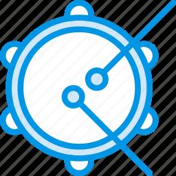 audio, music, play, sound, tambourine icon