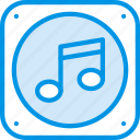 audio, file, music, play, sound icon