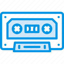 audio, cassette, music, play, sound icon