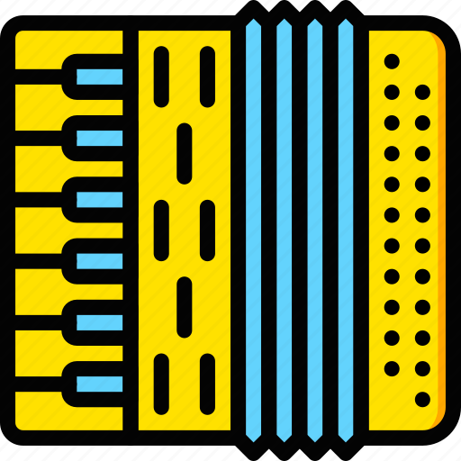 accordion, audio, music, play, sound icon