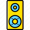 audio, club, music, play, sound, speaker