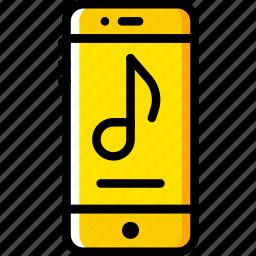 audio, music, phone, play, player, sound icon