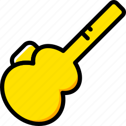 audio, guitar, music, play, protection, sound icon