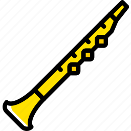 audio, music, oboe, play, sound icon