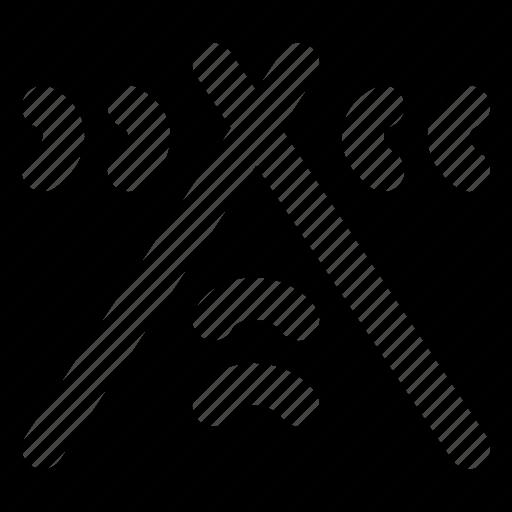 audio, drum, music, play, sound, sticks icon
