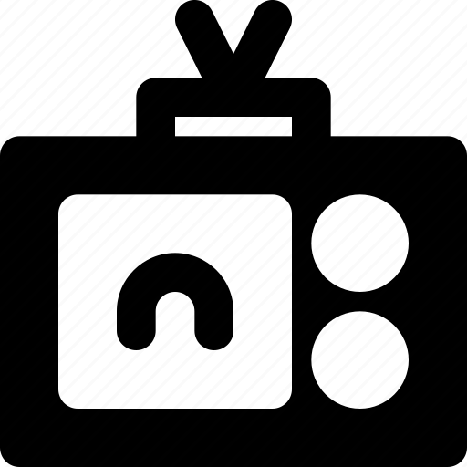 anchor, communication, media, news icon