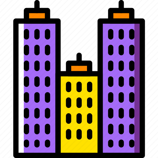 building, construction, estate, home, property, real icon