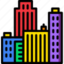 building, city, construction, estate, home, property, real icon