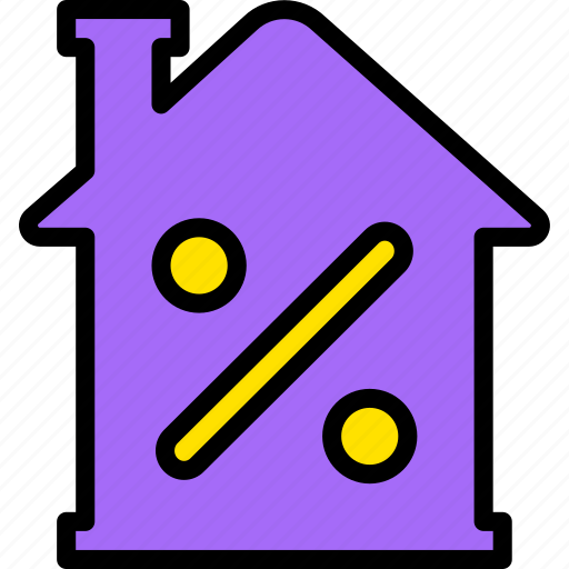 building, discount, estate, home, house, property, real icon