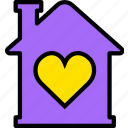 building, estate, home, house, like, property, real icon