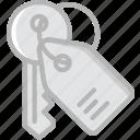 building, estate, house, keys, property, real