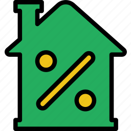 building, discount, estate, house, property, real icon