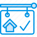 building, estate, house, property, real, sold icon