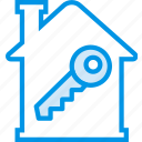 building, estate, house, key, property, real