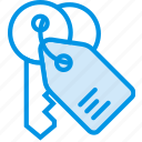 building, estate, house, keys, property, real icon