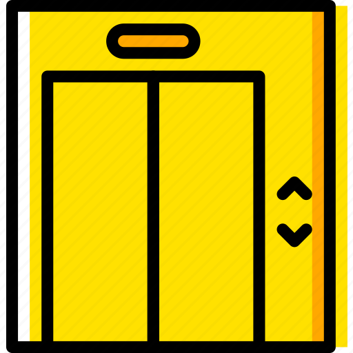 building, elevator, estate, house, property, real icon