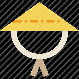 asian, church, hat, pray, religion icon