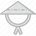asian, church, hat, pray, religion icon