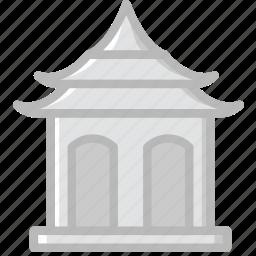 buddhist, church, pray, religion, shrine icon