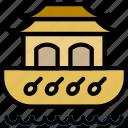 ark, church, pray, religion icon