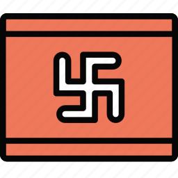 church, flag, nazist, pray, religion icon