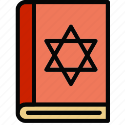 church, pray, religion, torah icon