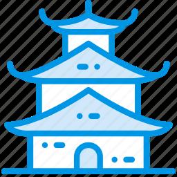 asian, church, pray, religion, temple icon