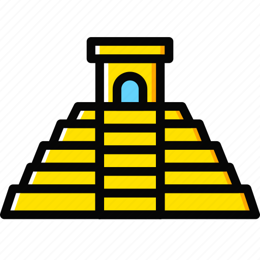 church, mayan, pray, pyramid, religion icon