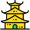 asian, church, pray, religion, temple icon