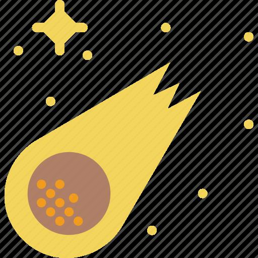 comet, cosmos, hubble, space, speed, travel icon