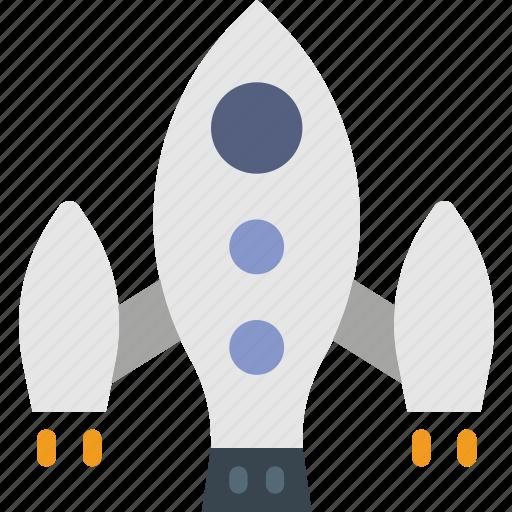 cosmos, exploration, moon, soyuz, space, spaceship icon