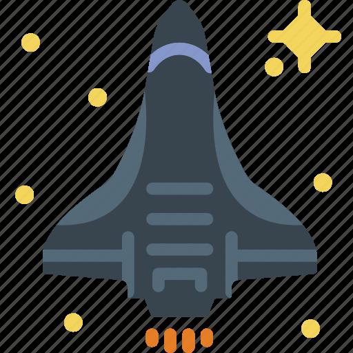exploration, galaxy, nasa, rocket, shuttle, space, spaceship icon