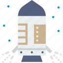 escape, module, nasa, rocket, space, spaceship icon