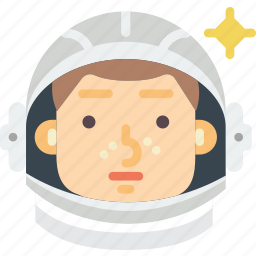 astronaut, gagarin, moon, nasa, russia, space, spaceship icon