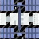 human, nasa, orbit, planet, space, station icon