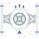 fighter, hiperspace, laser, pilot, spaceship, star wars, tie icon