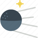 exploration, moon, russia, satellite, space, sputnik icon